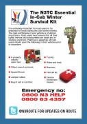 N3TC Essential In-Cab Winter Survival Kit