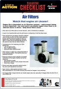 Air Filters - Maintenance Checklist