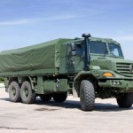 Formidable! The Mercedes-Benz Zetros will be available in South Africa in 2011 for private and military use.