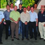 The Green team from Triton Express, Volvo, BPW, Wabco and Afrit.