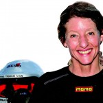 Clare Vale, chairperson of Women in Road Safety. The 'mamas' are now in the safety arena - and about time too.