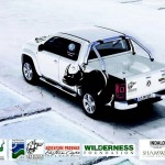 The VW amarok fitted with the MiX Telematics system is being used in the fight to preserve our rhino populations.