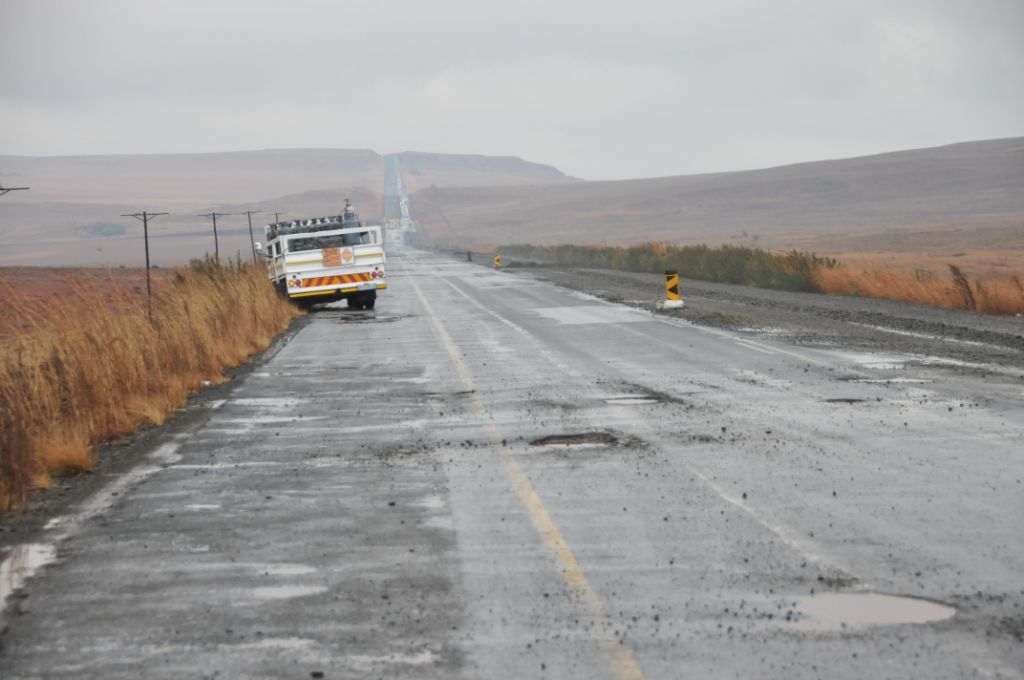 Bad Roads in Africa R621 Road South Africa