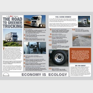 The road to Greener Trucking