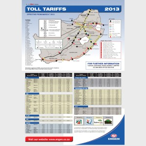 Toll Tariffs 2013
