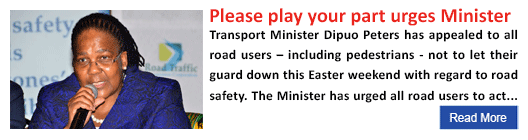 Please play your part urges Minister