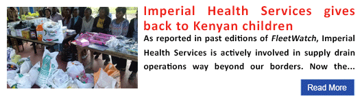 Imperial Health Services gives back to Kenyan children