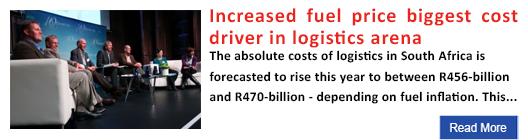 Increased fuel price biggest cost driver in logistics arena