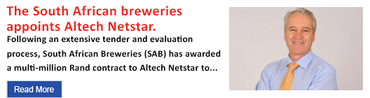 The South African Breweries appoints Altech Netstar
