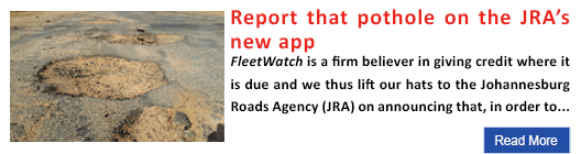 Report that pothole on the JRA's new app