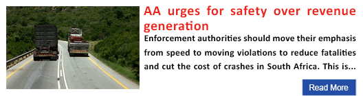 AA urges for safety over revenue generation