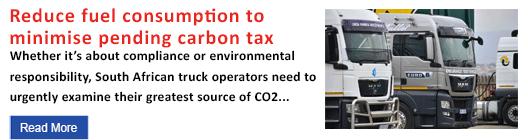 Reduce fuel consumption to minimise pending carbon tax