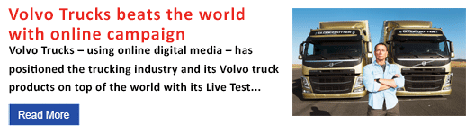 Volvo Trucks beats the world with online campaign