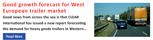 Good growth forecast for West European trailer market