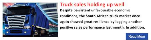 Truck sales holding up well