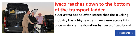 Iveco reaches down to the bottom of the transport ladder