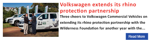 Volkswagen extends its rhino protection partnership