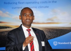 "Dr David Molapo, head of Fleet Management at Standard Bank: ""Fleet managers have to radically improve the efficiency of their operations."""