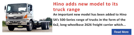 Hino adds new model to its truck range