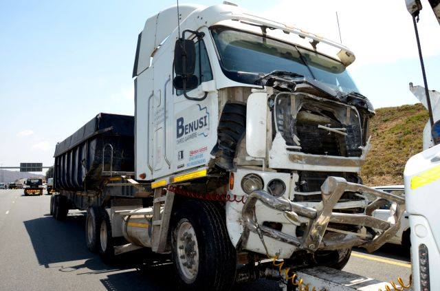 """O'Leary says if this rig had been put onto a brake roller tester prior to the accident, It would have failed and been discontinued. """"From what I saw, that truck should not have been on the road. The claim of 'brake failure' is wrong as there were no brakes to fail."""" he says."""