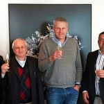 Celebrating the signing of the Imperial/Imres deal are, from left: Marius Swanepoel, Chief Executive Officer, Niek Zee, Managing Director, Geert Schutte, Operations Director, George De Beer, Chief Financial Officer Africa