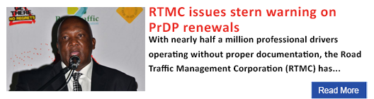 RTMC issues stern warning on PrDP renewals