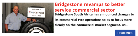 Bridgestone revamps to better service commercial sector