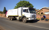 FAW Trucks Partners in clean-up projects