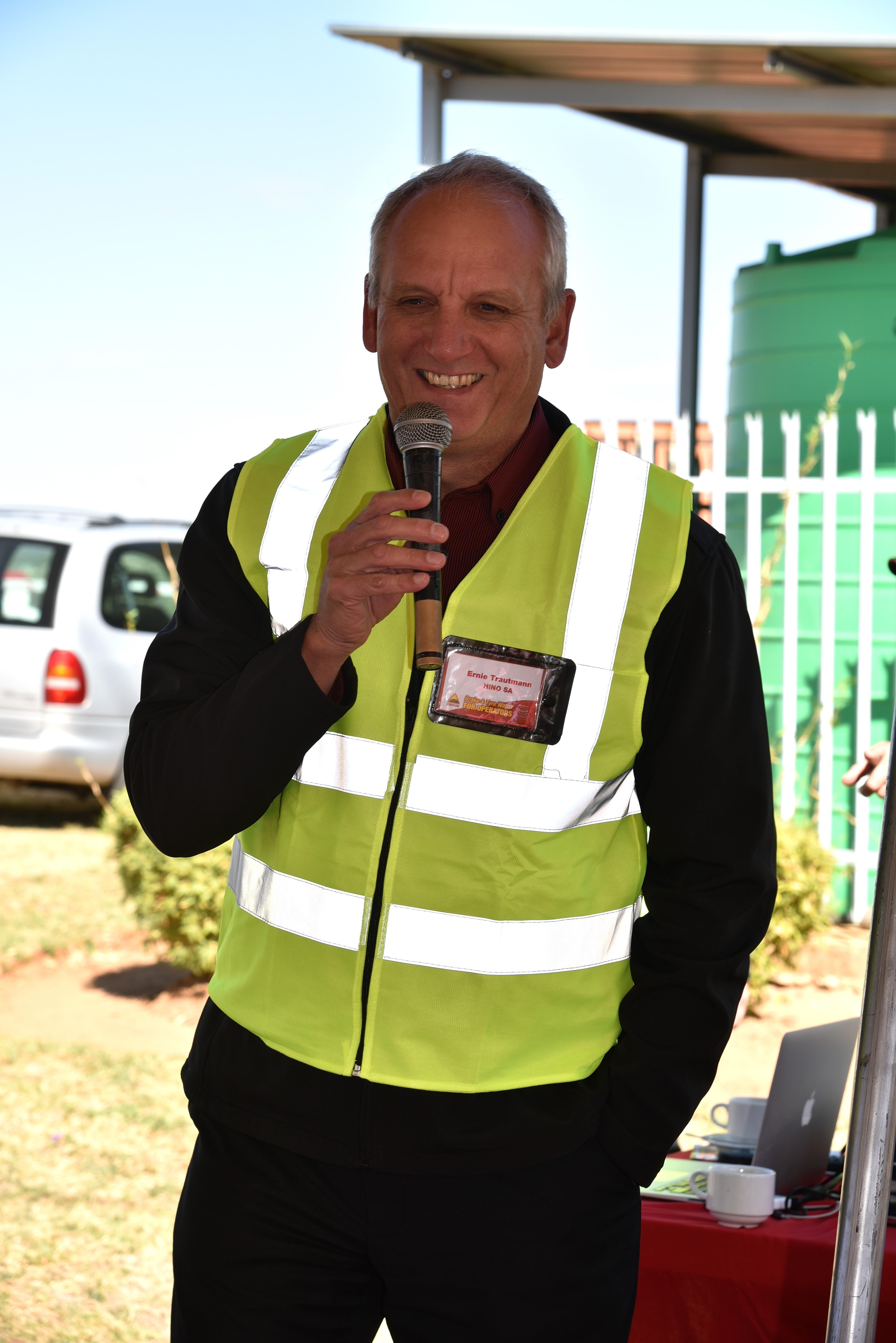 Ernie Trautmann, Hino SA - Vice President