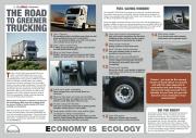 Green Trucking Poster