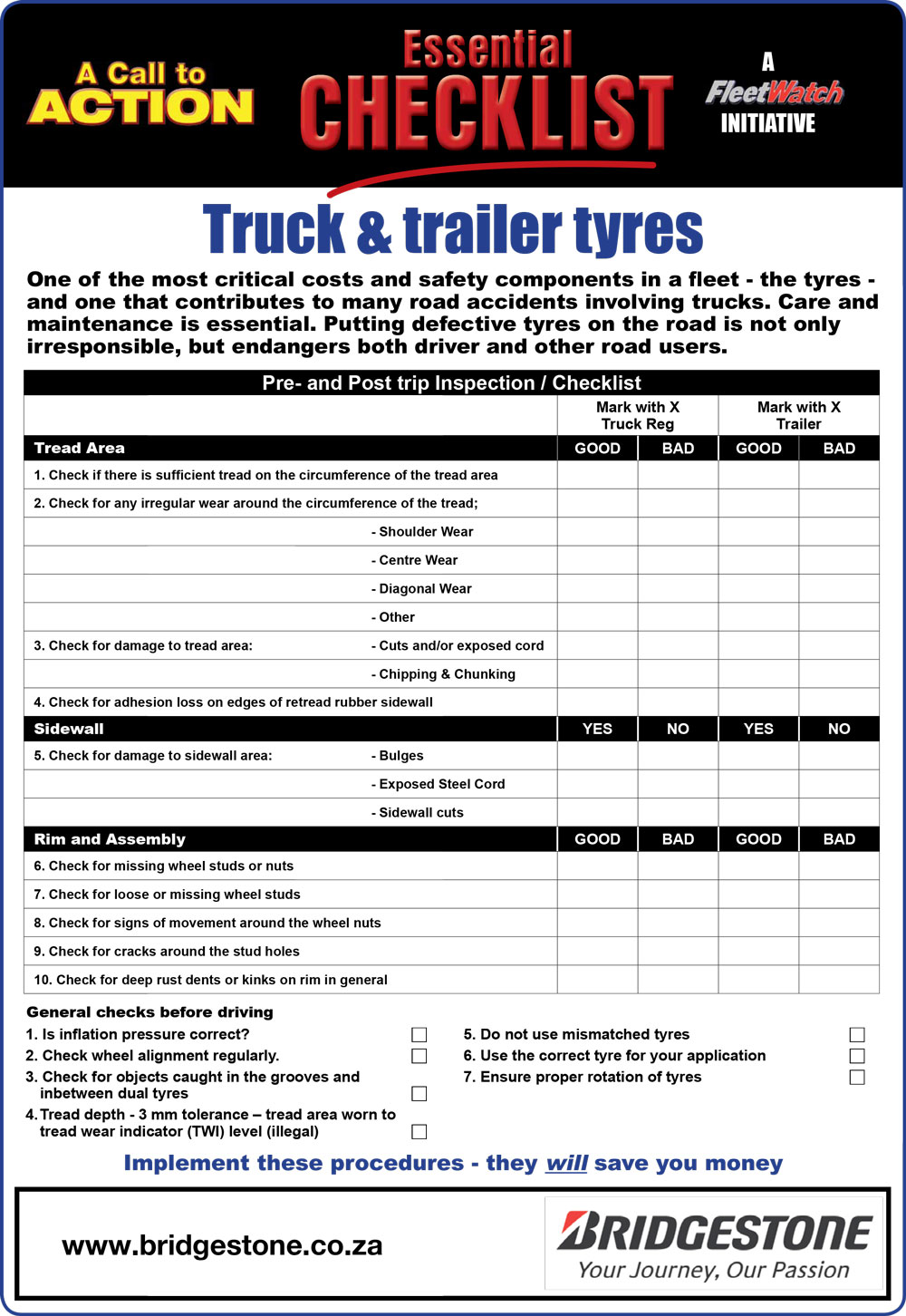 daily checklist safety Improve safety in your organisation with these safety checklists includes checklists for construction, hospitality, ohsa and more  daily vehicle inspection checklist.