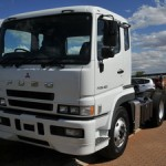 The Mitsubishi FUSO FP with 420hp engine – new entry