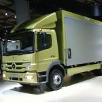 GREEN ATEGO HYBRID - with insulated loadbox and fridge unit