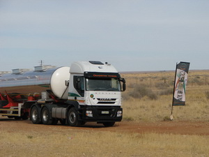 Oranjerivier Tenkers... have a vision to be the best bulk tanker specialist in the wine/pulp product market.