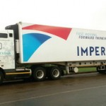 Graffiti has branded ten refrigerated vehicles for Imperial's Fast 'n Fresh distribution services. These are the first of Imperial's massive fleet to be branded as part of a national rebranding campaign.
