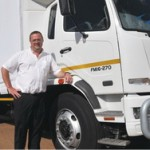 Duncan Prince – passionate about his new 'lorries'.