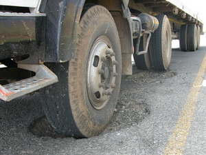 Bad road conditions are adding to the maintenance costs of operators and to the claims costs of insurers. They have a major influence on accident frequencies.