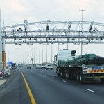 At the time of writing, the Gauteng Tolls had been suspended.