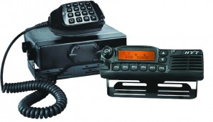 Radio trunking guarantees real time communication between managers and drivers.