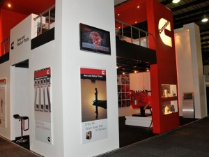 The Cummins stand at Automechanika held in Johannesburg last month.