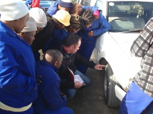 As a result of the training provided by Bridgestone to staff of the South African National Parks Biodiversity Social Projects (BSP), which kicked off in January 2012, a reduction in unroadworthy tyres of more than 50% has been noted - with a resultant decrease in crashes.