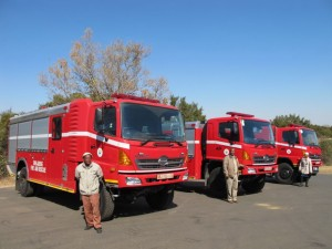 The partnership arrangement between Hino South Africa and Marcé Fire Fighting Technology has resulted in the delivery of several fire engines based on Hino truck chassis-cabs.