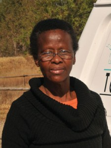 Margaret Tlhouwe…21 years behind the wheel and still loving it.
