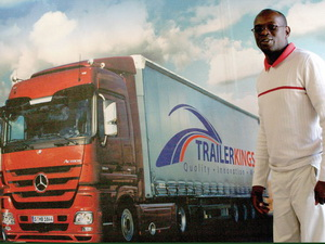 No room for complacency. Collin Mangena, chief of TrailerKings, aims to shake up the local trailer market by providing cutting edge after sales serviceand support to its customers.