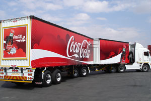Locally manufactured beverage trailers have been put into operation right across the continent in such countries as Angola, Zimbabwe and Zambia.