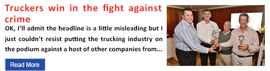 Truckers win in the fight against crime