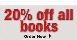 20% off all books