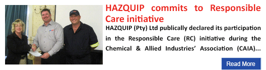 HAZQUIP commits to Responsible Care initiative