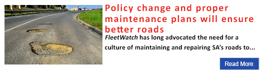 Policy change and proper maintenance plans will ensure better roads