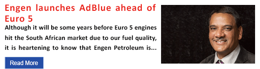 Engen launches AdBlue ahead of Euro 5